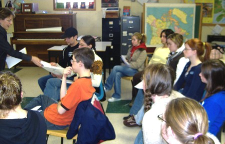 volunteer training 2007
