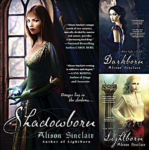 Alison Sinclair - Darkborn Series